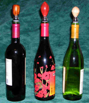 Winebottles with Small Premium Stoppers